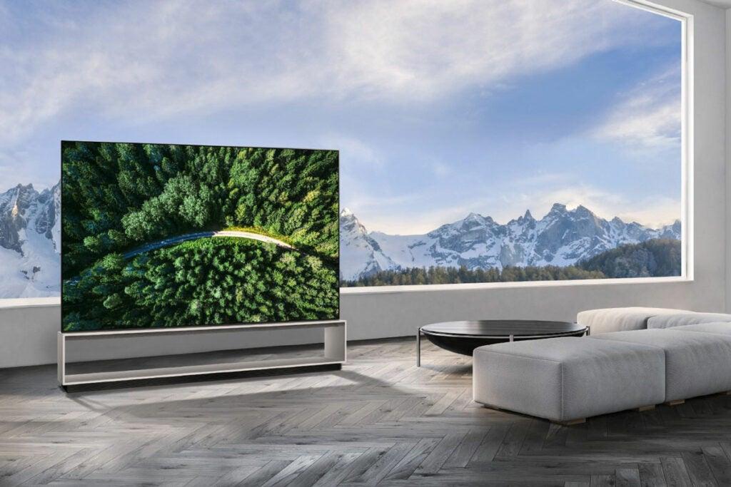 LG Signture OLED 88-inch 8K TV