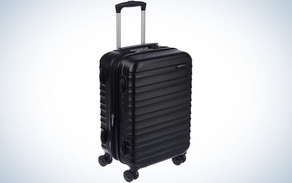 AmazonBasics Hardside Carry-On Spinner Suitcase Luggage