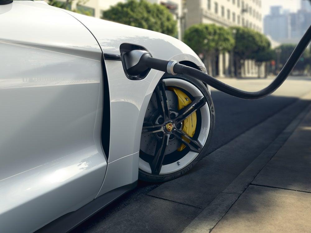 Porsche  Taycan electric sports car