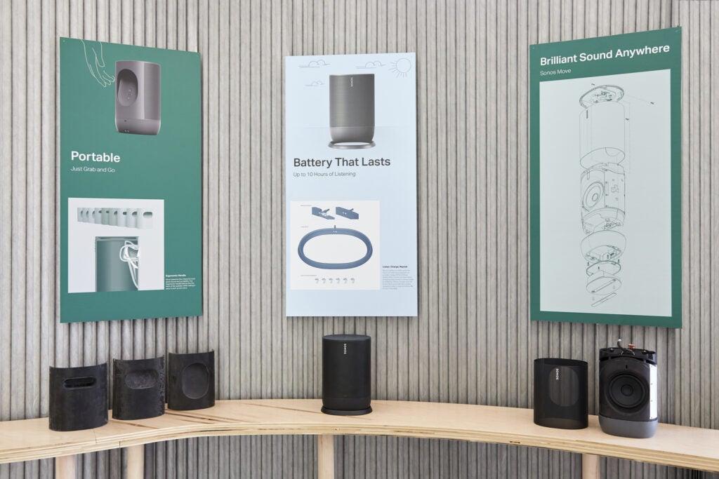 Sonos Move speaker tech