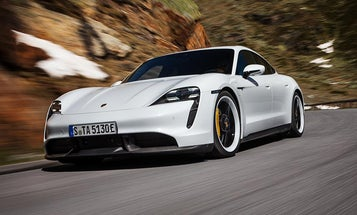 Porsche's first electric vehicle hits 161 mph and promises fast charging