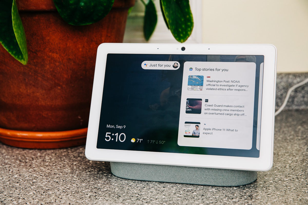 Google's Nest Hub Max smart screen is bigger, better, and always watching (if you want it to)