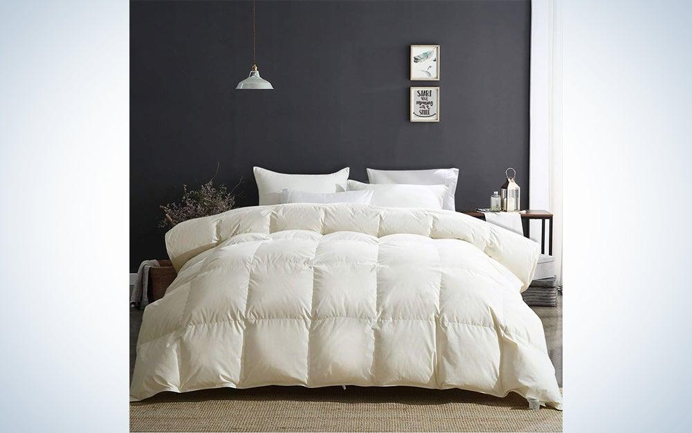 APSMILE Luxury All Season Goose Down Comforter