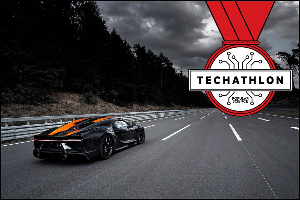 Techathlon podcast: Android's alphabet, obscure speed records, and tech news trivia
