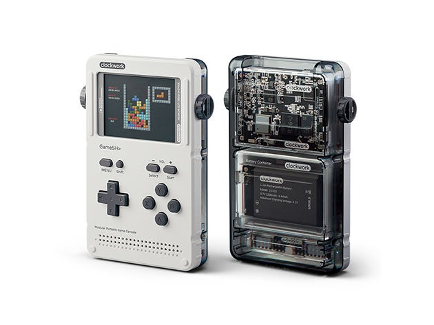 GameShell is the world's first modular, open-source portable game console