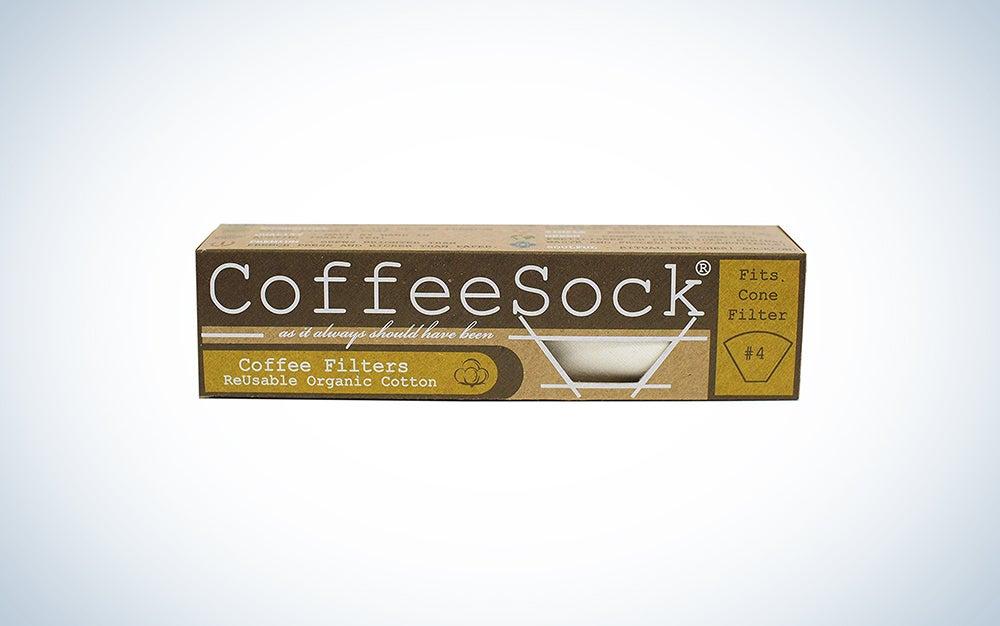CoffeeSock Reusable Coffee Filter