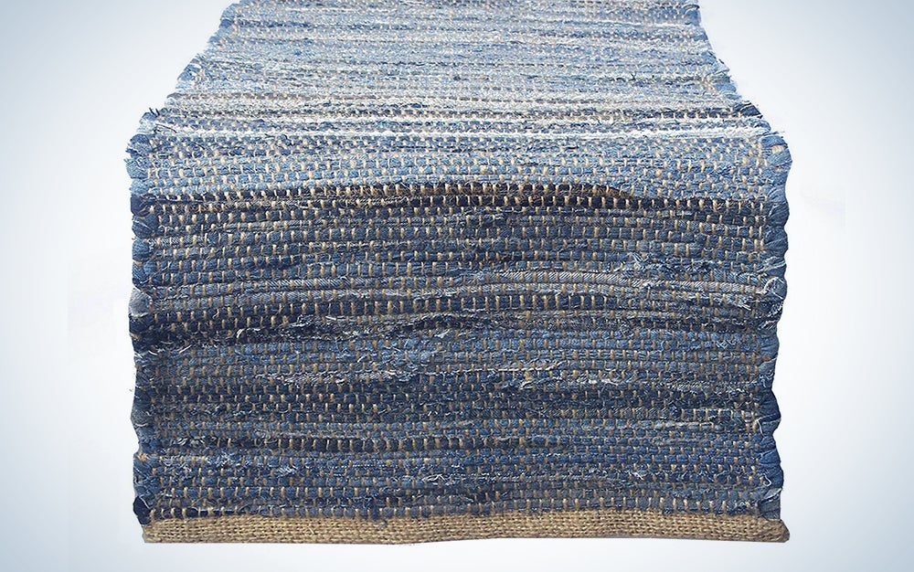 Chardin Home Eco-Friendly Recycled Table Runner