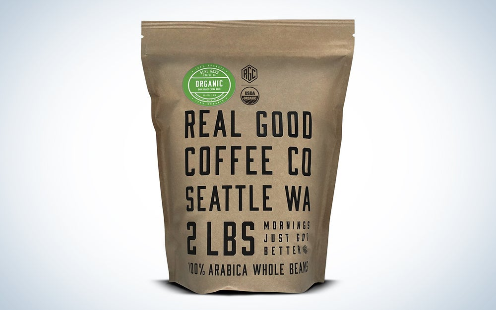 Real Good Coffee Co's Organic Dark Roast