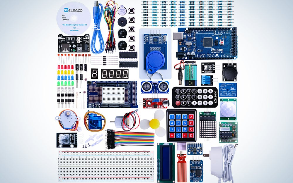 Elegoo Mega 2560 Project The Most Complete Ultimate Starter Kit