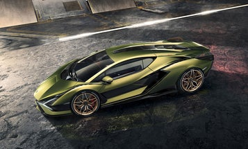 Lamborghini built a supercapacitor into its Sián hybrid for a faster, smoother ride