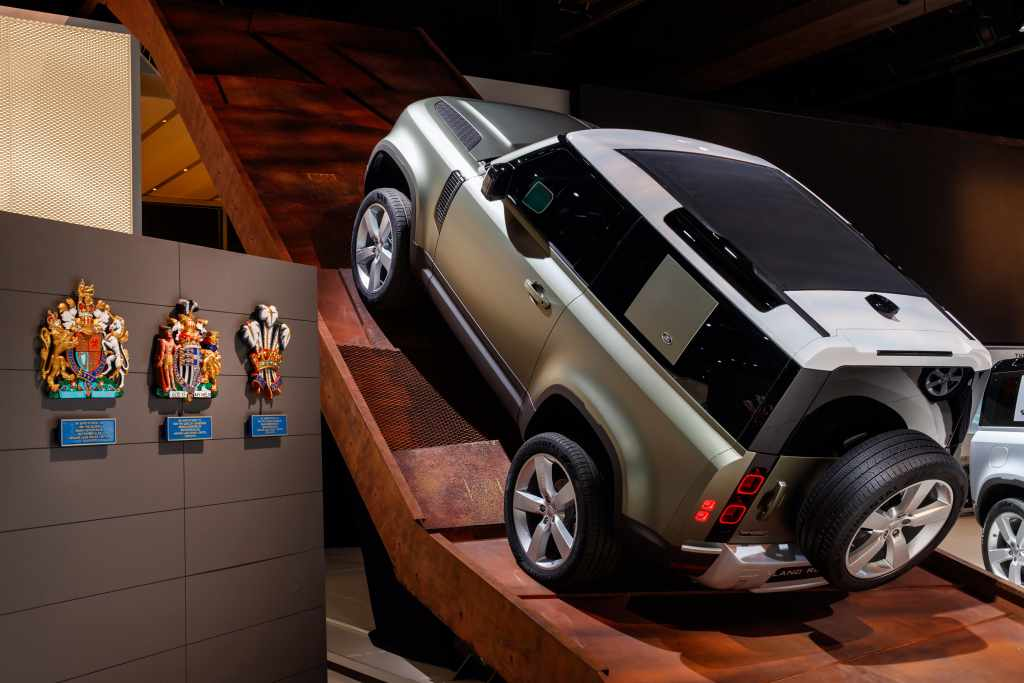 Land Rover Defender Incline