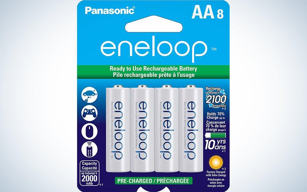 Panasonic eneloop AA/AAA batteries
