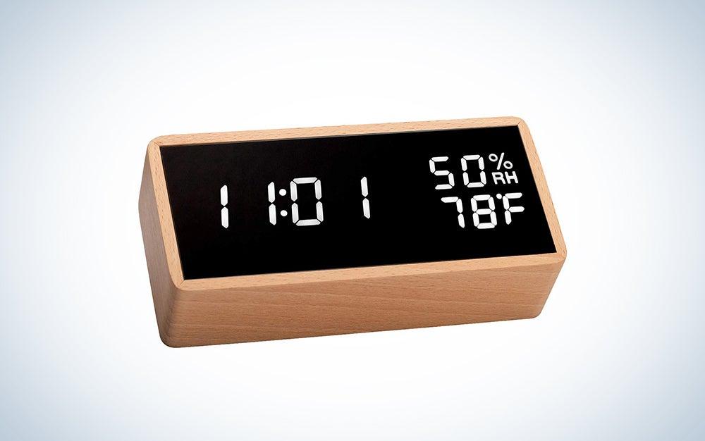 Meross Digital Alarm Clock for Bedrooms