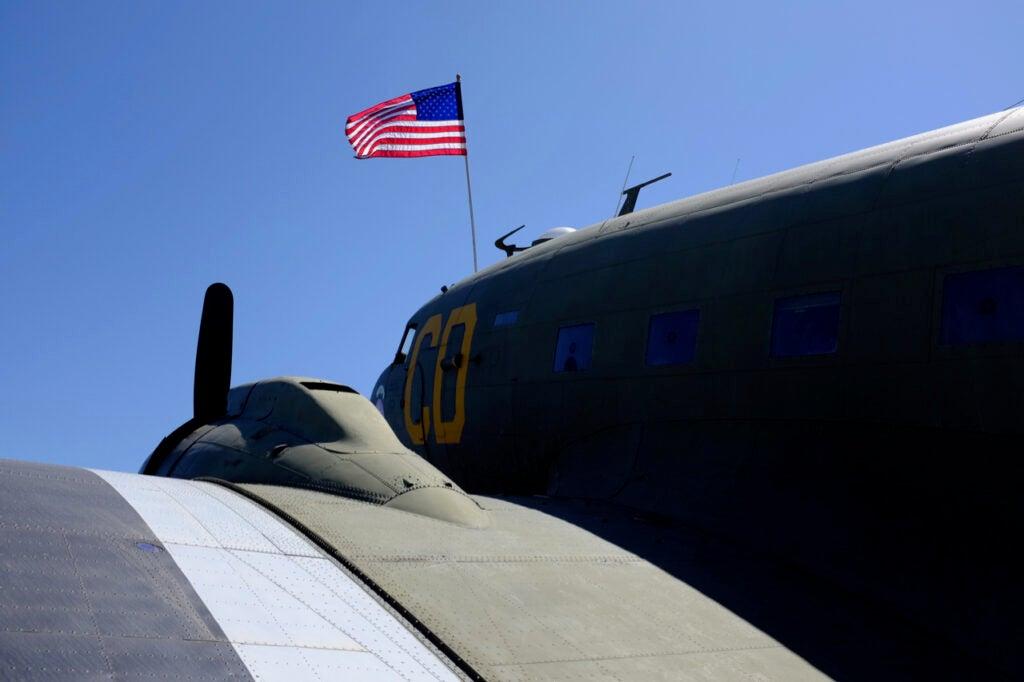 historic cargo plane
