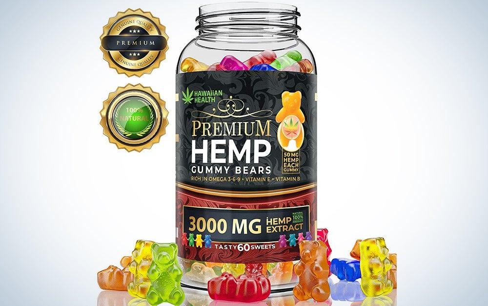 Hemp Gummies Premium 3000 Milligram High Potency