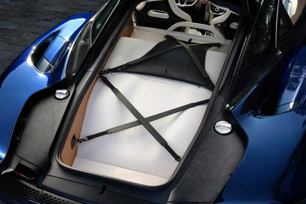 McLaren GT trunk space