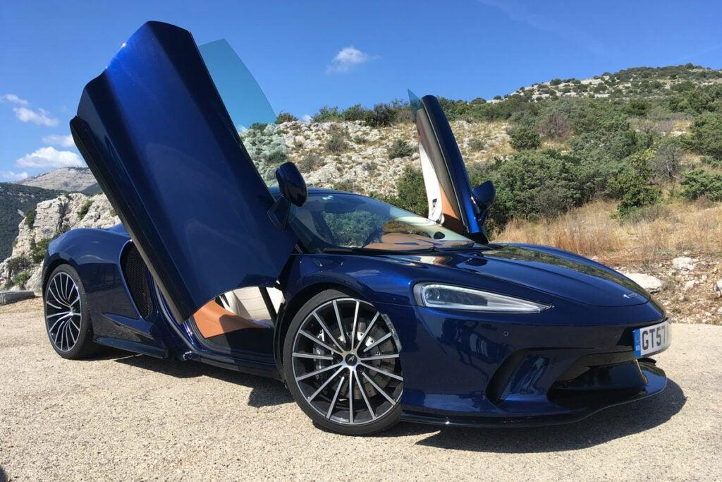 McLaren GT Doors