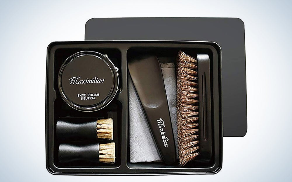 Maximilian Deluxe Business Leather Shoe Care Kit