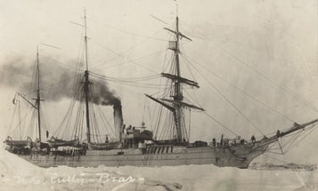 Century-old ship logs show how much ice the Arctic has lost