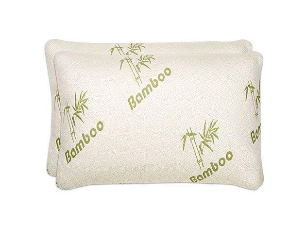 Shredded Memory Foam Bamboo Pillows