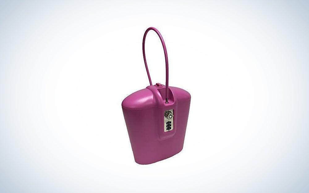 SAFEGO Portable Travel Lockbox Safe