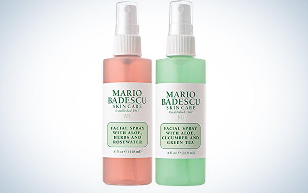 Mario Badescu Facial Spray with Rosewater and Green Tea Duo