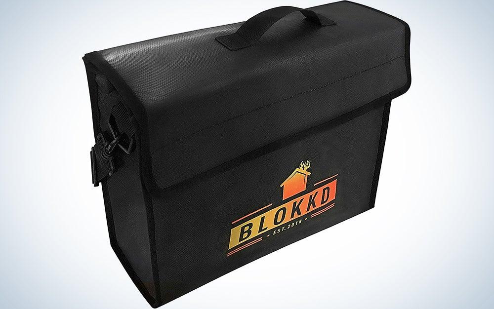 Blokkd Fireproof Document Bag