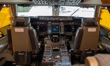 Explore the gauges, levers, and history of a 747′s iconic cockpit