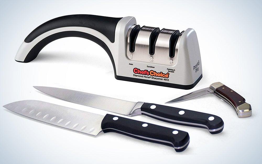 Chef'sChoice 4643 ProntoPro Diamond Hone Manual Knife Sharpener