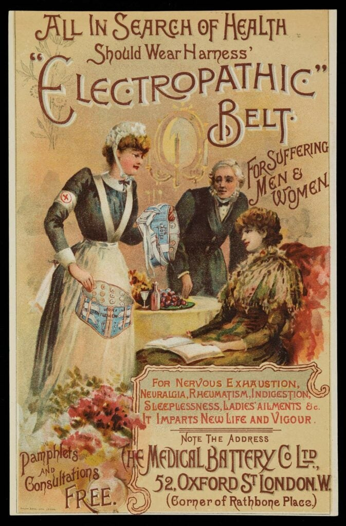 electropathic belt poster