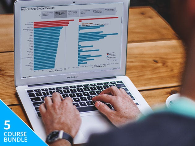 Improve your data analysis skills with this certified Tableau training