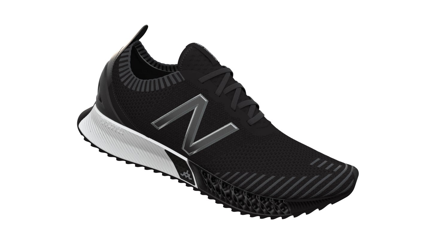 Lasers and 3D printing give New Balance's new kicks their bounce