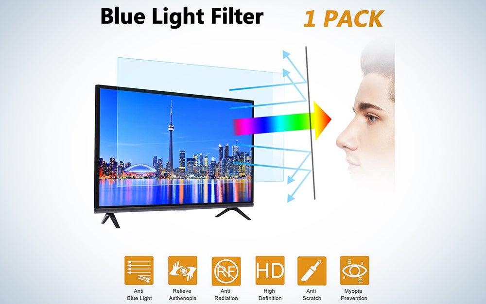 32-inch Blue Light TV Screen Protector