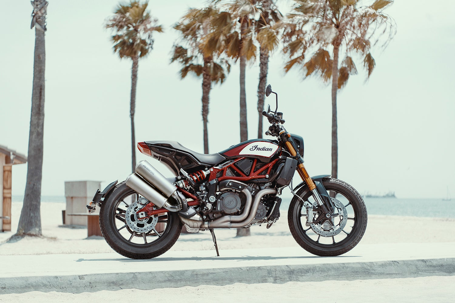 Indian's FTR 1200 S motorcycle is everything a modern sport bike should be