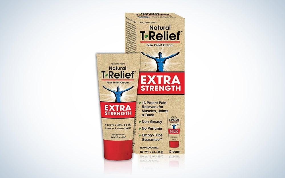 T-Relief Extra Strength Pain Relief Cream