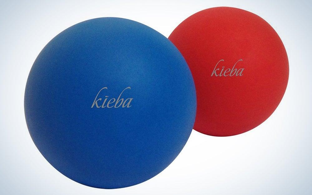 Kieba Massage Lacrosse Balls for Myofascial Release