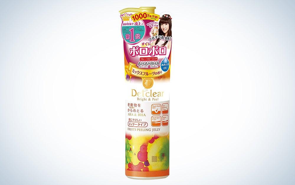 Meishoku Del Clear Bright and Peel Facial Peeling Gel