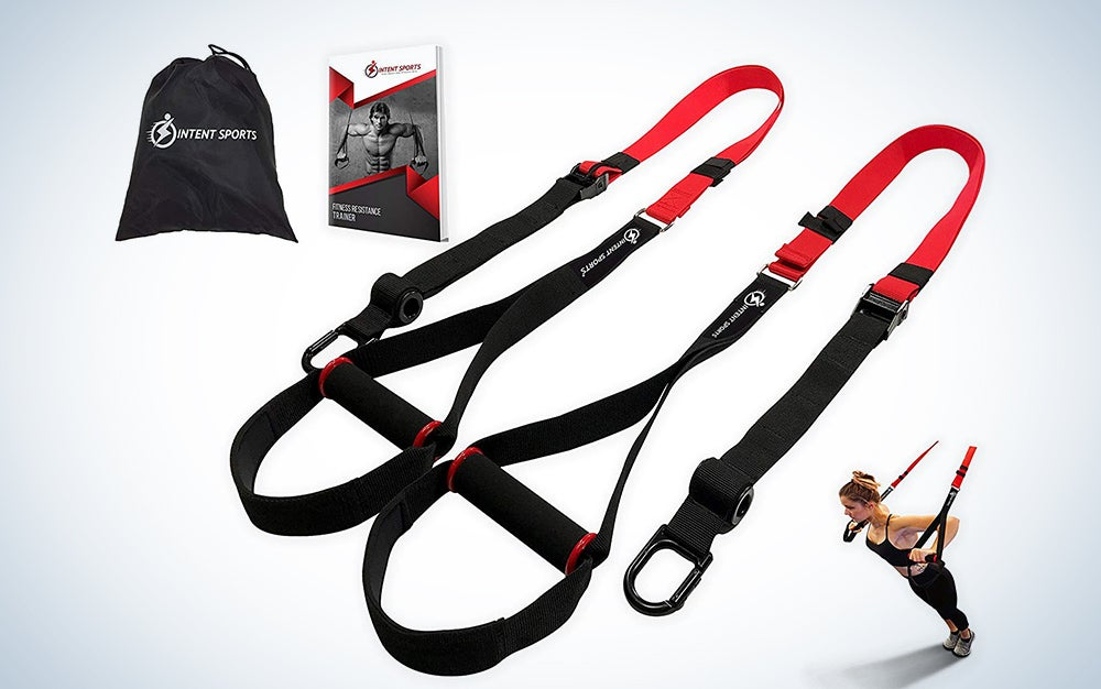 Intent Sports Bodyweight Fitness Resistance Trainer Kit