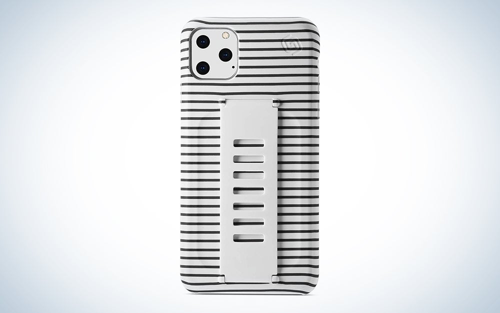 Grip2ü Slim Phone Grip Case Cover Compatible with iPhone 11 Pro Max
