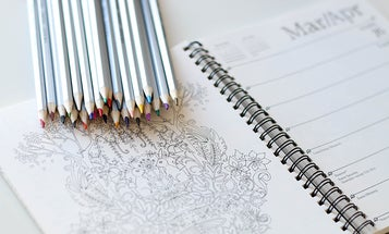 Science-based coloring books for adults and children alike