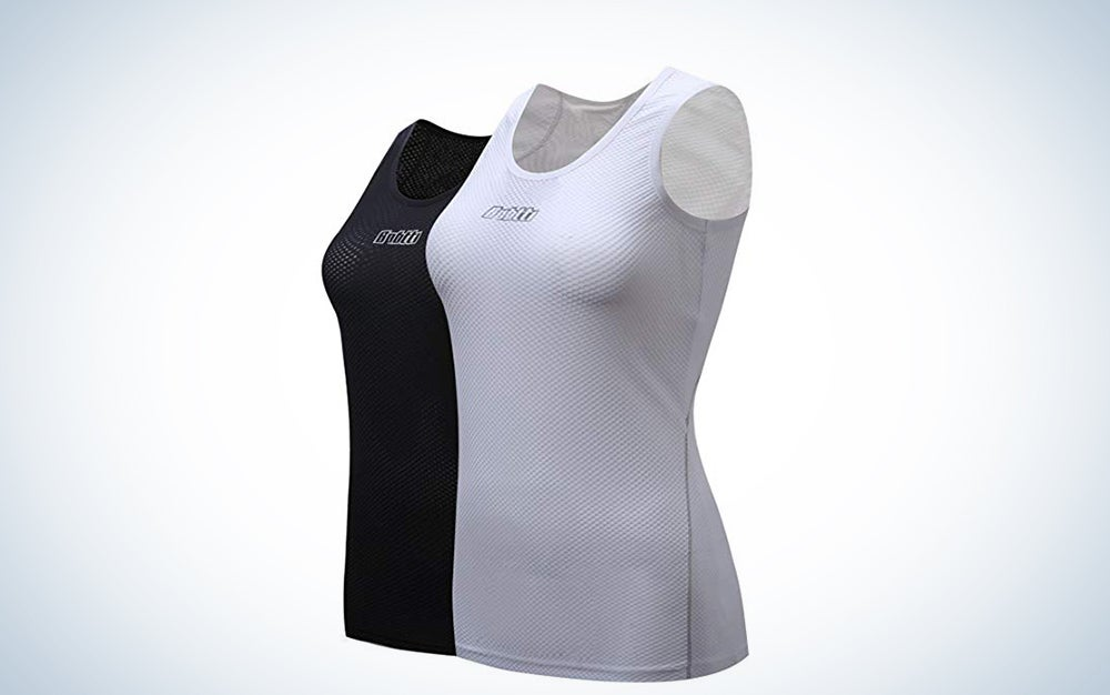 Bpbtti Women's Sleeveless Cycling Undershirt