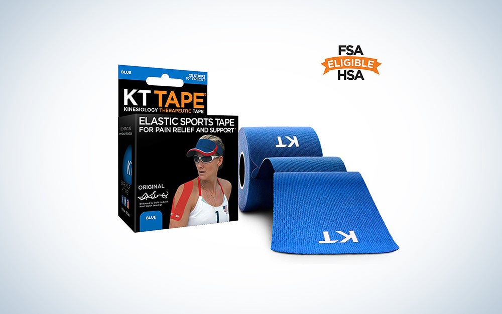 KT Tape Elastic Kinesiology Therapeutic Sports Tape