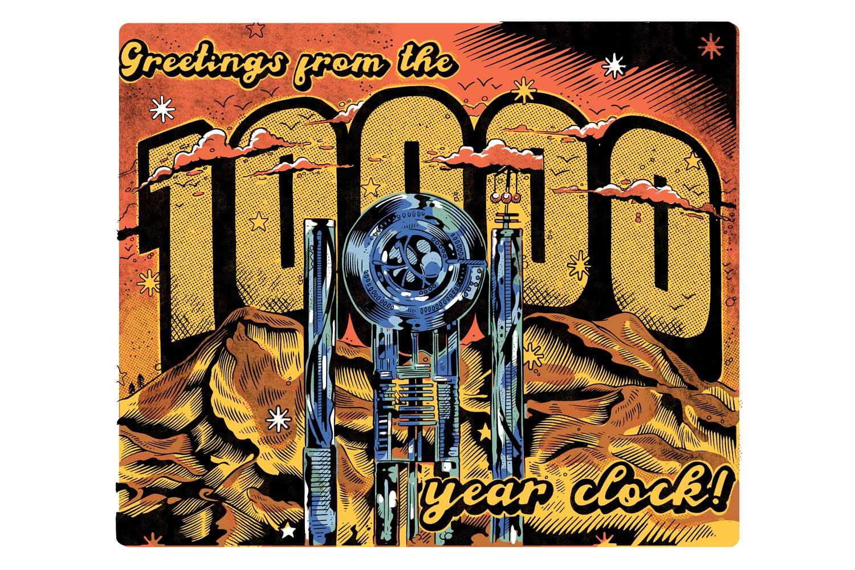10000 year clock illustration