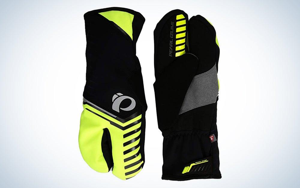 Pearl Izumi Ride Pro AMFIB Lobster Gloves