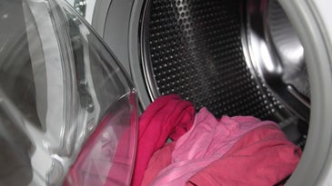 clothes coming out of the washer