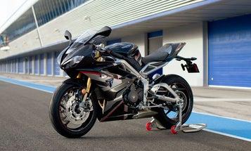 Triumph's Daytona Moto2 765 Limited packs pro racing tech into a street bike