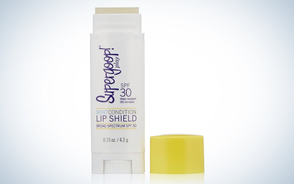Supergoop! Mint Condition Lip Shield SPF 30