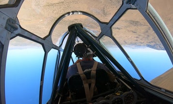 The thrill and physics of flying upside down