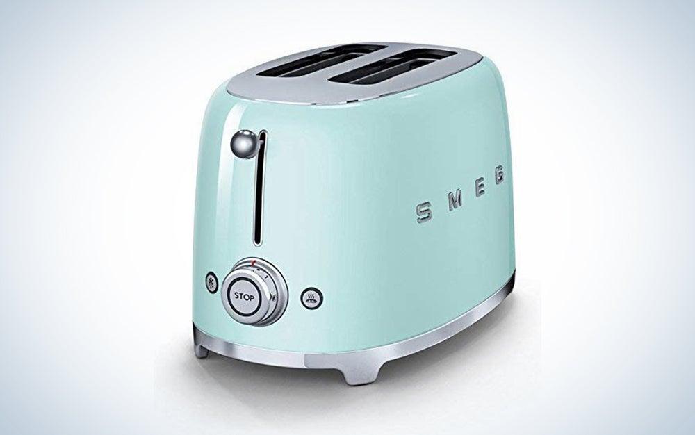 Smeg 50's Retro Style Aesthetic 2 Slice Toaster