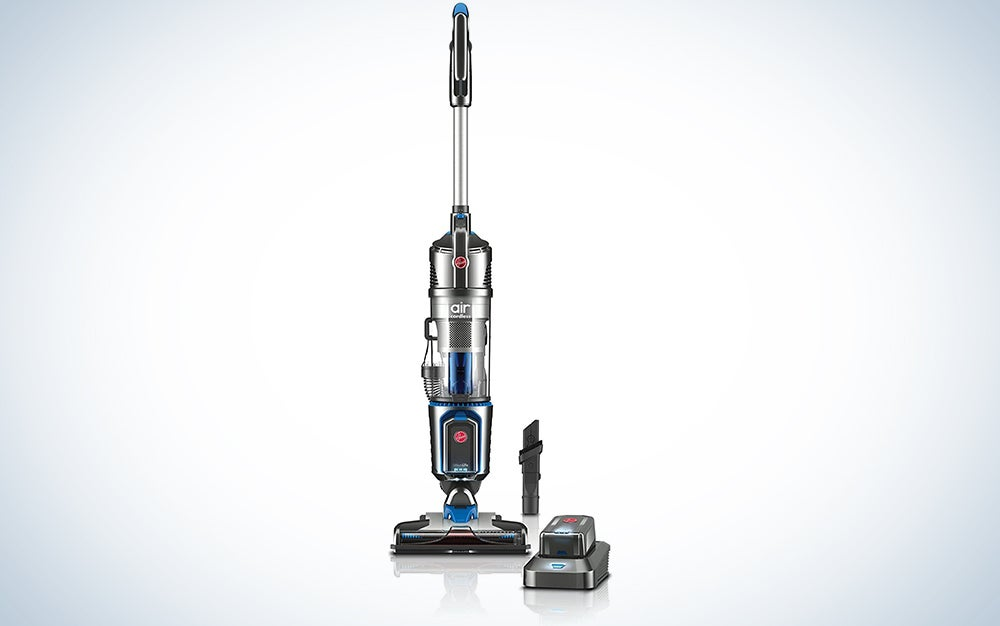 Hoover Air Cordless 20 Volt Lithium Ion Bagless Steerable Upright Vacuum Cleaner